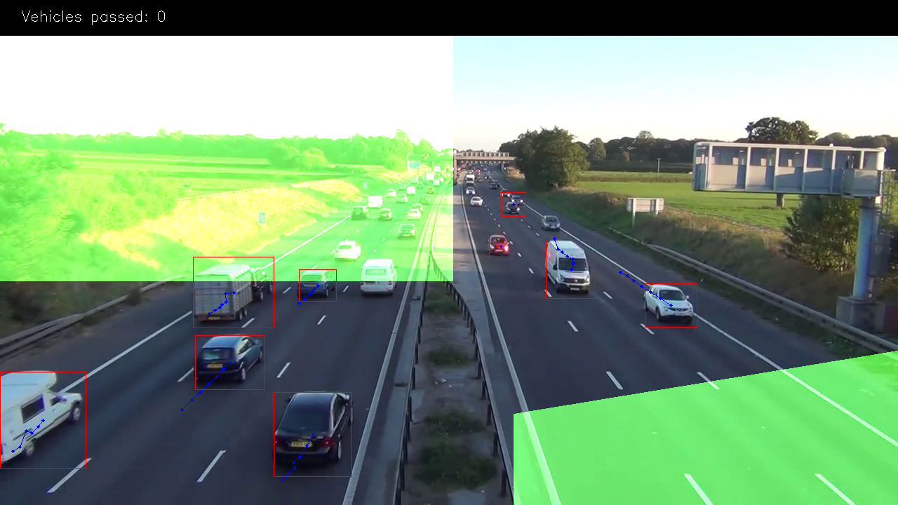 Car counting app with object detection
